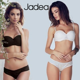 Jadea Coordinato Fascia+Slip Pois Crepe linea Chic ART.4646